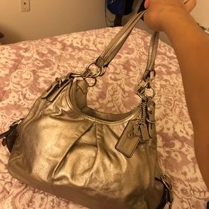 Coach bag model no F1082-15742 champagne ($175new)